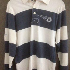 Vintage Polohemd langarm-0