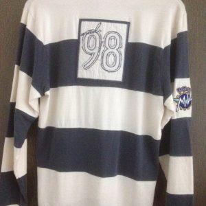 Vintage Polohemd langarm-283