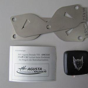 25kW Drosselkit für Brutale 750-0