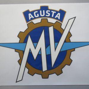 Aufkleber MV Agusta Logo-0